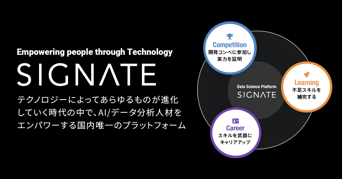 Competition Detail/SIGNATE | SIGNATE - Data Science Competition